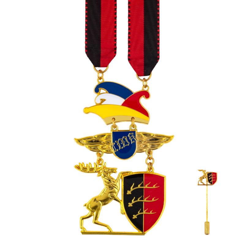Hirsch am Goldenen Vlies (inkl. Urkunde)